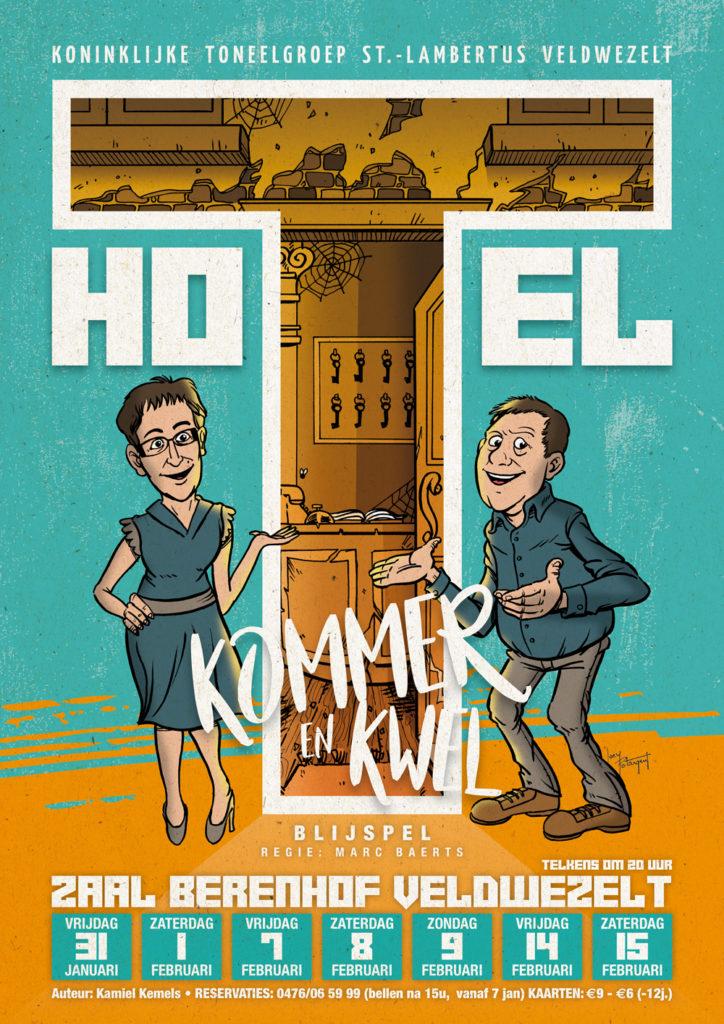 Hotel Kommer en Kwel Toneel Veldwezelt